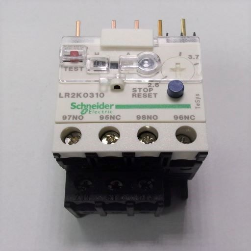 LR2K0310-Thermal Overload Relay 2.6-3.7 Amps K-Line
