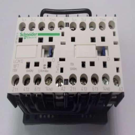 LC2K1210F7-Contactor Reversing 3NO-1NO 110v 12A