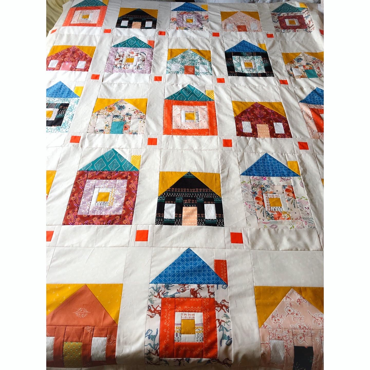 sweet home quilt top