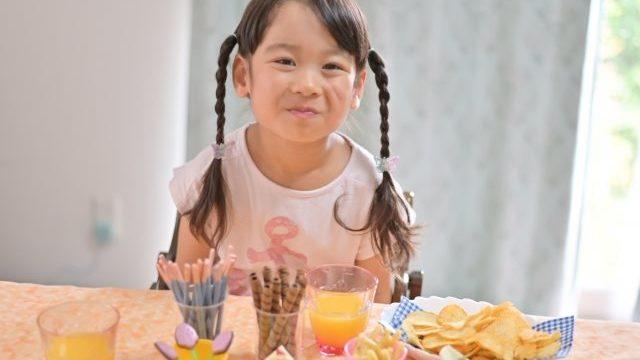 子供とお菓子
