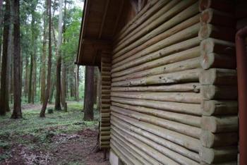 木で作られた家