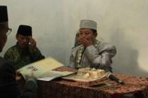 Reza sebelum proses ijab qabul. Foto: Alfian Putra Abdi