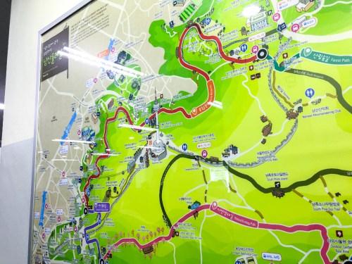 Nソウルタワー-アクセスマップ