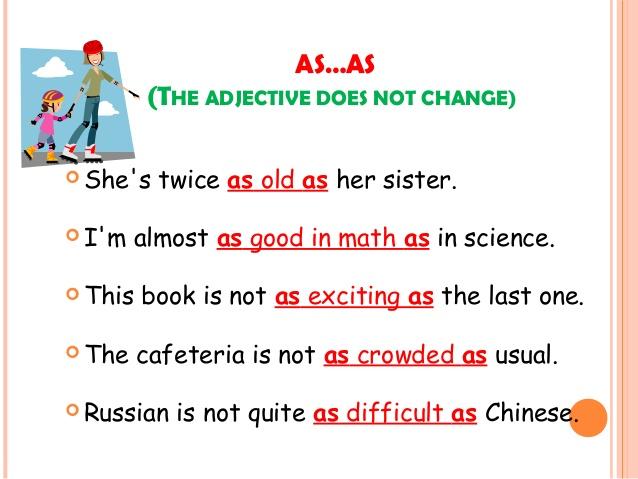 English 2B: As...As