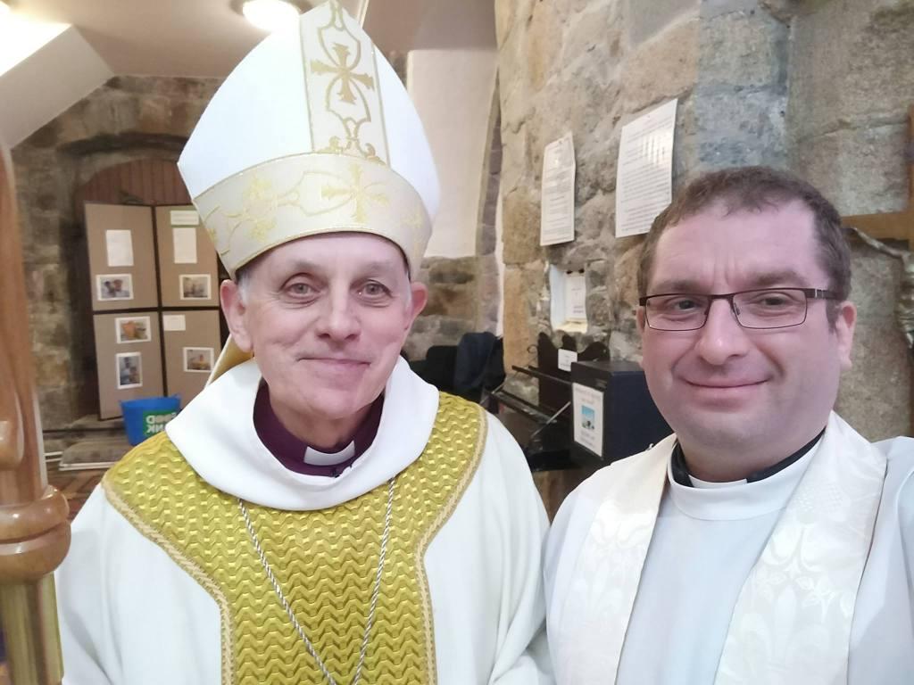 Stuart and Bishop Trevor