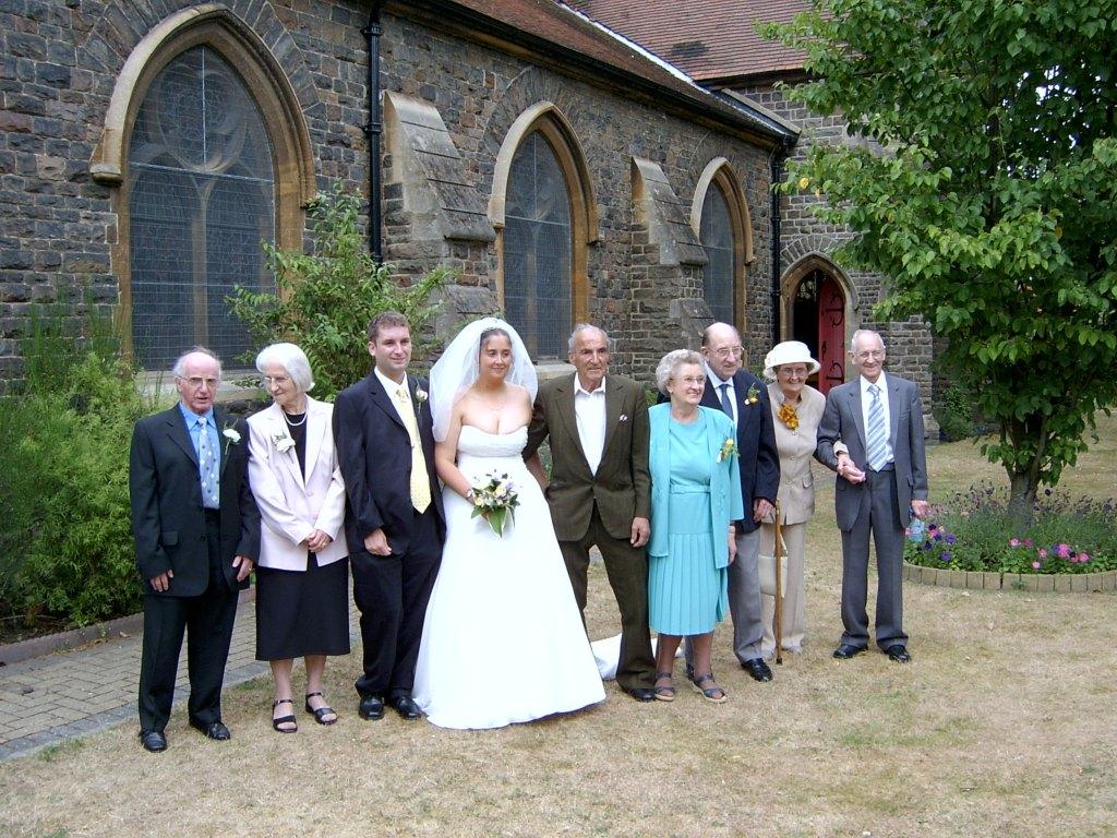 Stuart and Natalie's wedding
