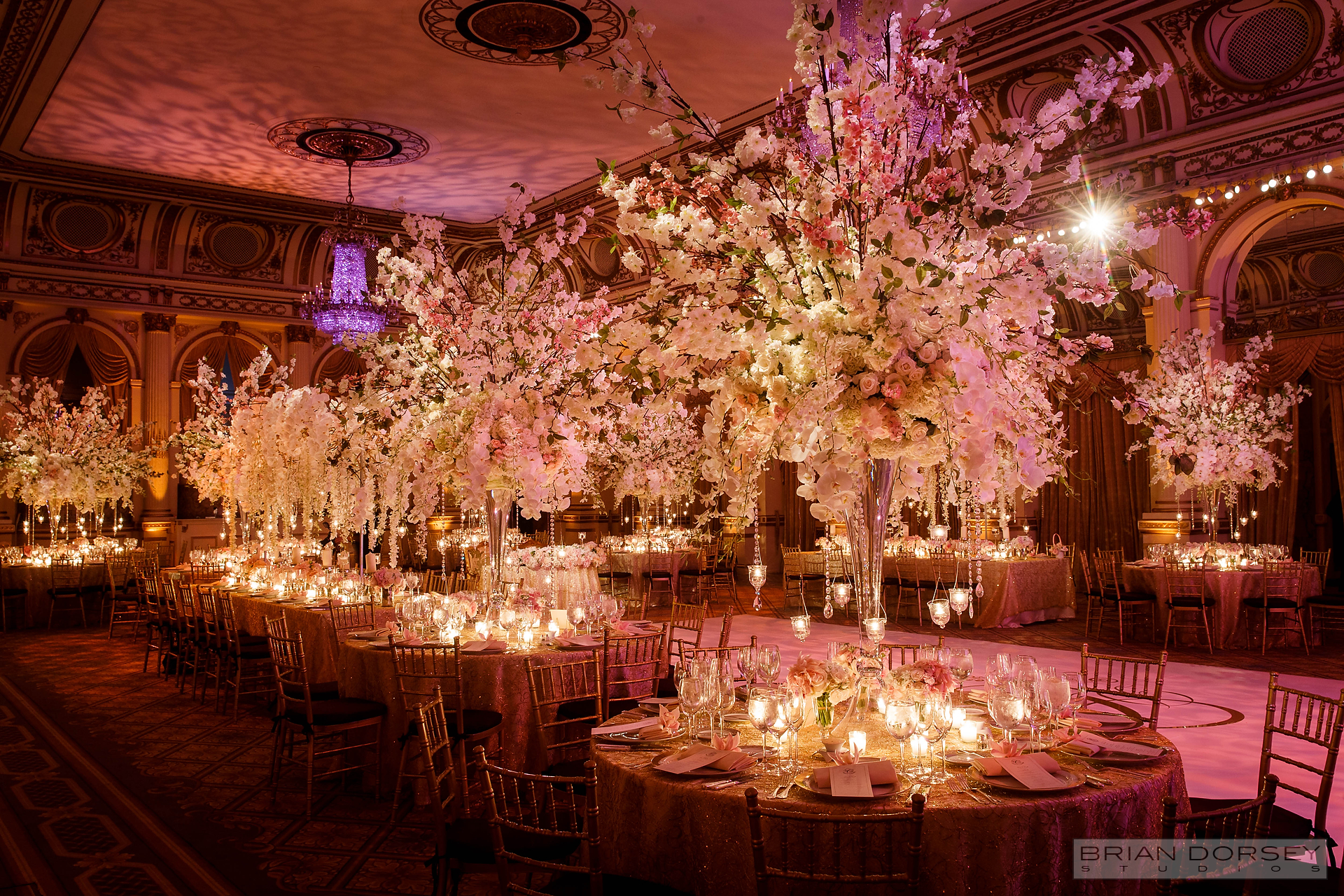 Diana And Russells Floral Fantasy Wedding New York