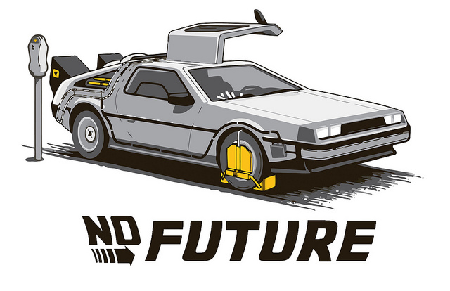 No Future by Mr. Theklan (CC-BY-SA) http://www.flickr.com/photos/99843959@N00/5501889997/