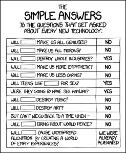 XKCD - Simple answers link