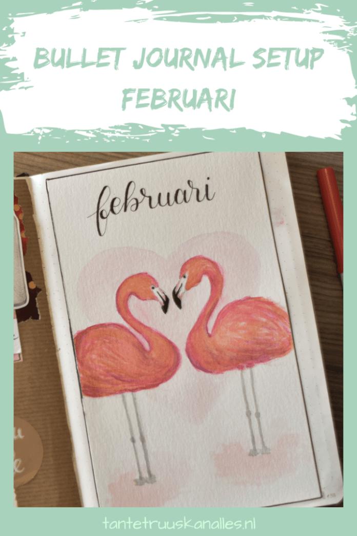 Bullet Journal Setup februari