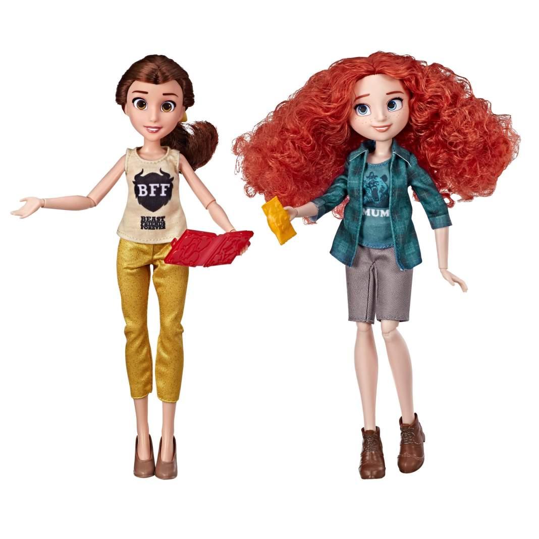 Disney Comfy Squad Belle en Merida