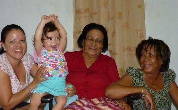 Een verdrietige week oma overleden