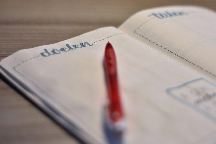 Mijn bullet journal in januari doelen en taken