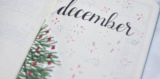 Mijn bullet journal setup voor december