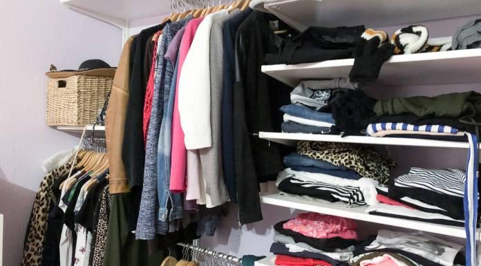 Opruimen en opbergen van kleding