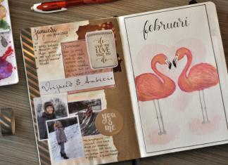 bullet journal in februari