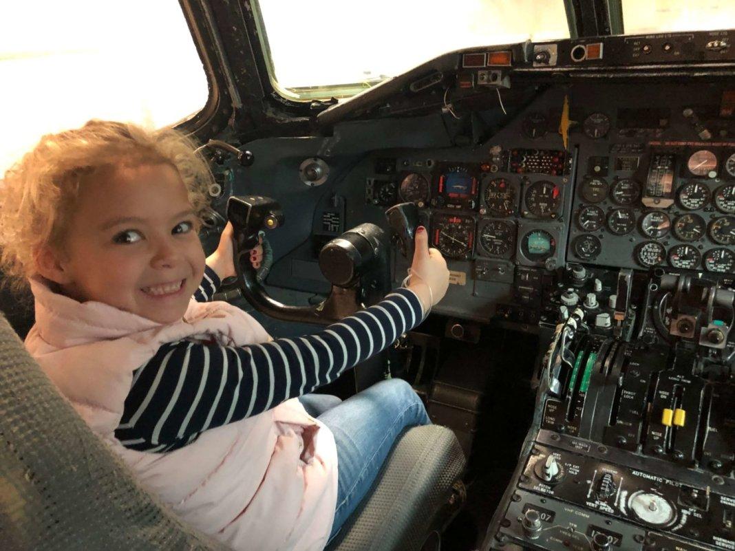 Het vertrek van mijn moeder piloot Jenna