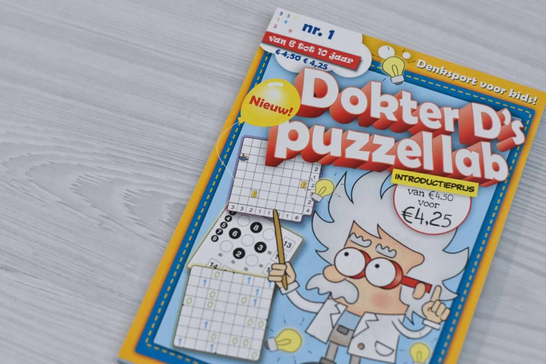 Win een exemplaar van Dokter D's Puzzellab