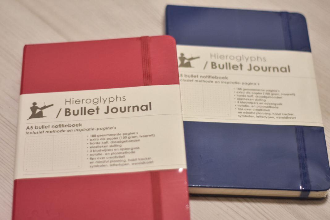 win een hieroglyps bullet journal
