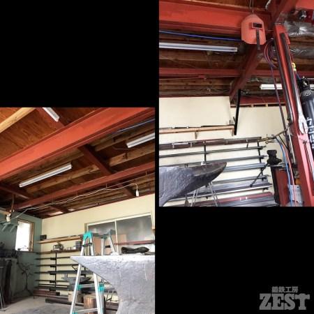 工房の天井