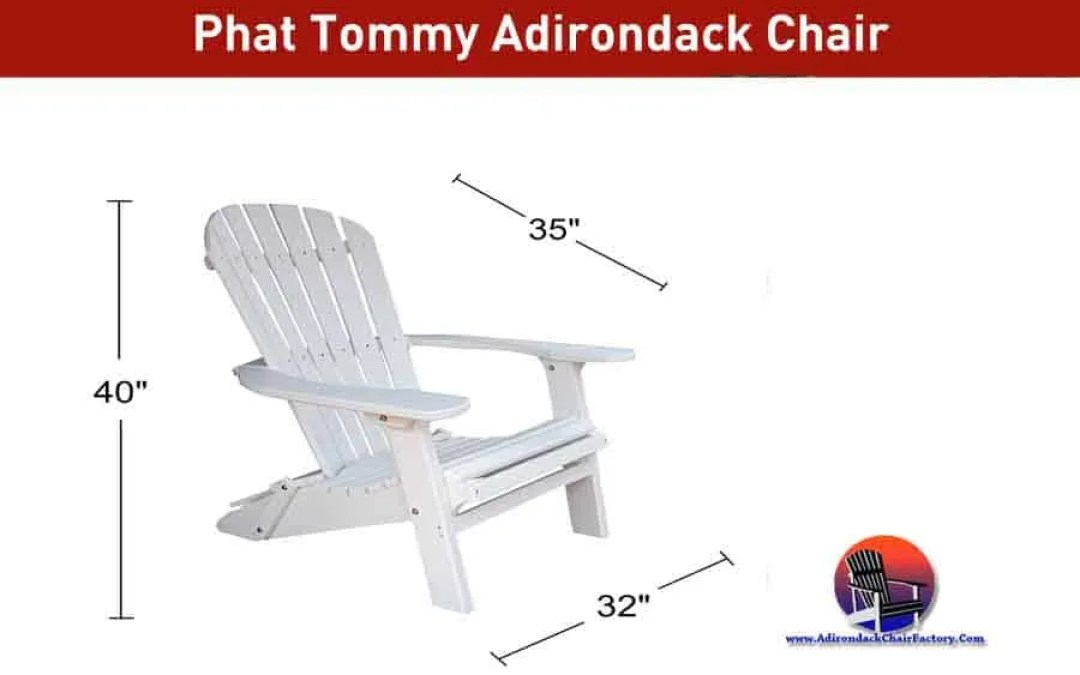 Phat Tommy Adirondack chair Review and Buying Guide (2020)