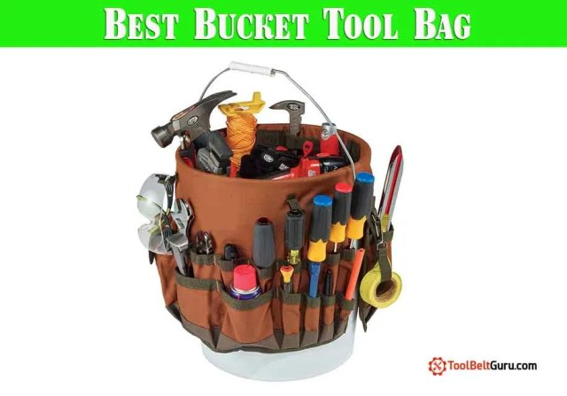 10 Best Rated Bucket Tool Bag | Caddies– 2019 (Compared)