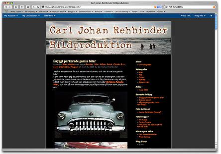 Carl Johan RehbinderBildproduktion