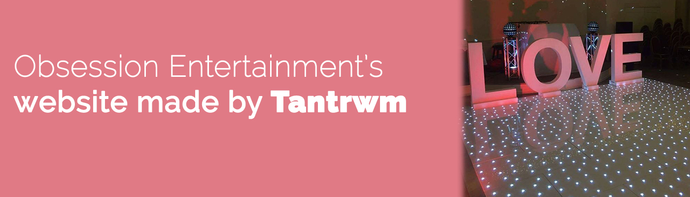 Tantrwm Obsession Entertainment DJ Slider