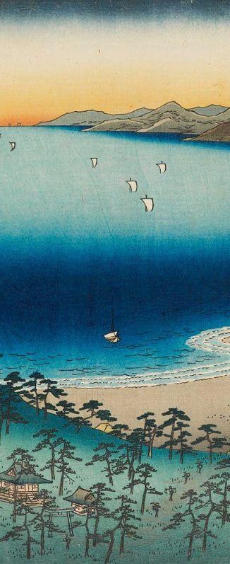 beach takashi hiroshige