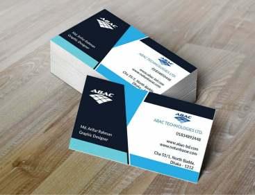 ABAC Business Cards MockupUp