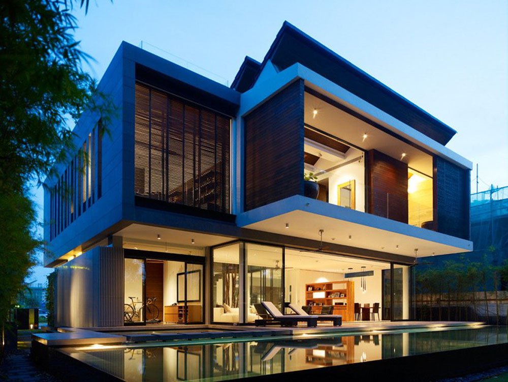Amazing Modern Architecture Of The Beautiful House Design ... on Amazing Modern Houses  id=56009