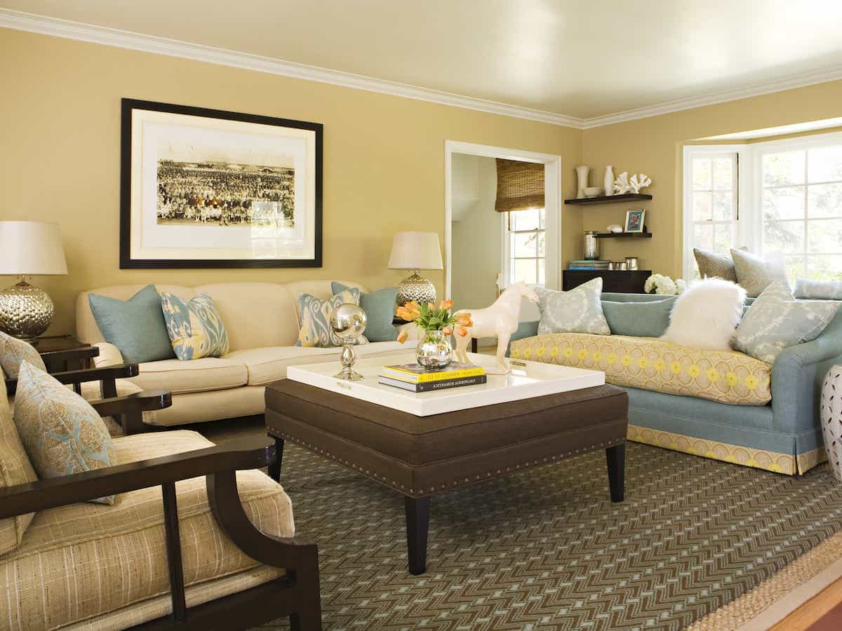 Family Room Mantel Decor