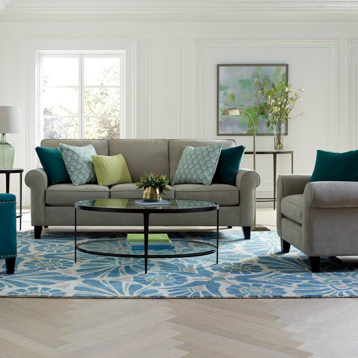 Boston Interiors Bryant Sofa With Floating Chaise Www