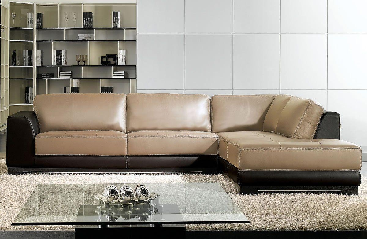 Sleek Sectional Sofa Magnificent Curved Leather Sofas 25