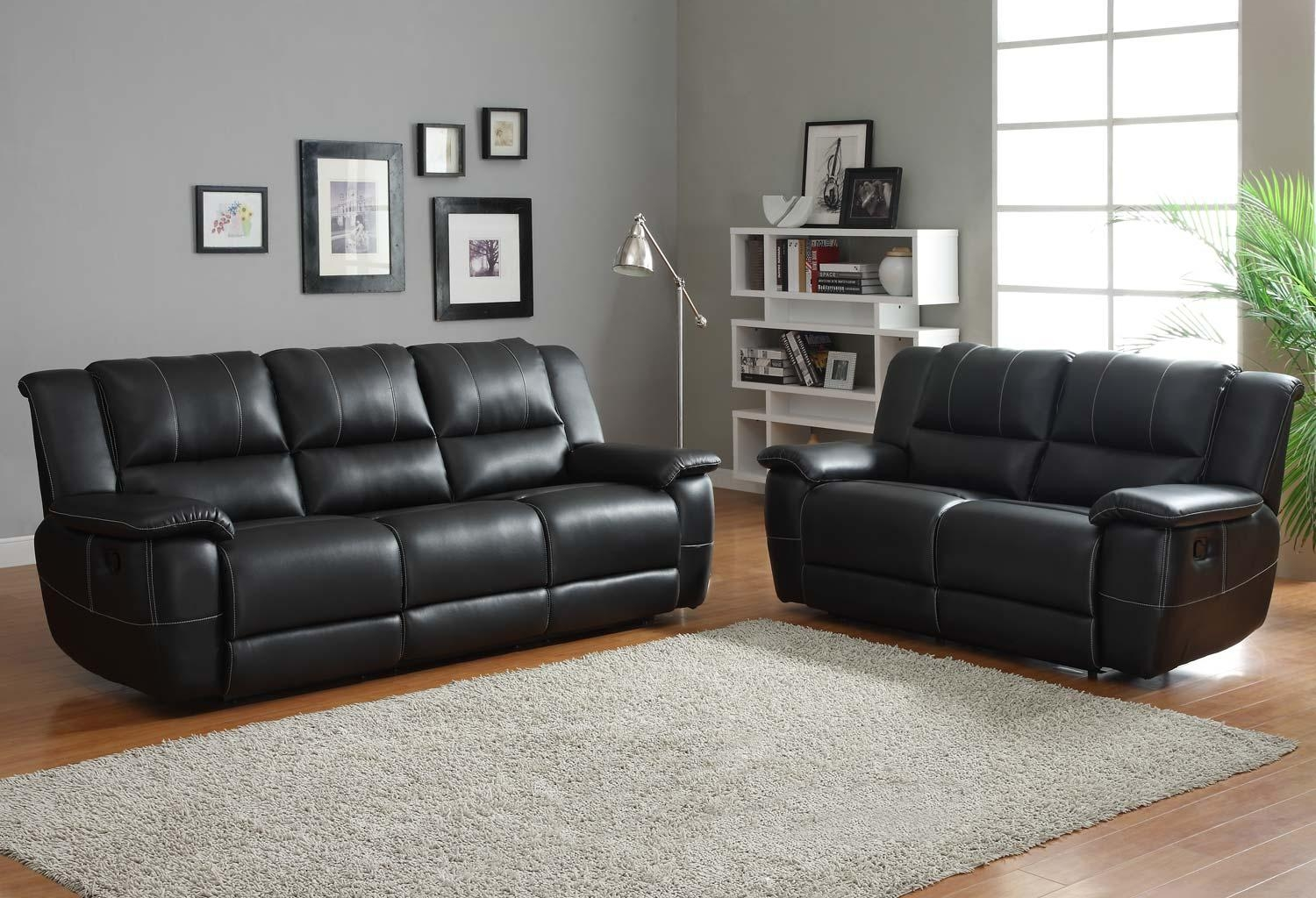 20 Best Contemporary Black Leather Sofas