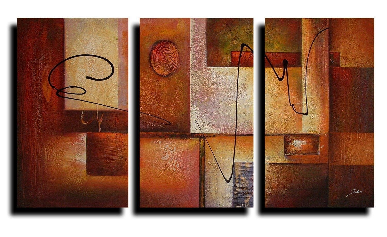 20 Best Collection Of Abstract Canvas Wall Art