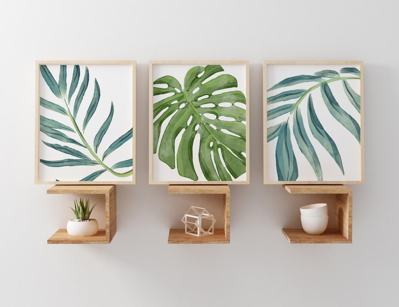 20 Best Palm Leaf Wall Decor