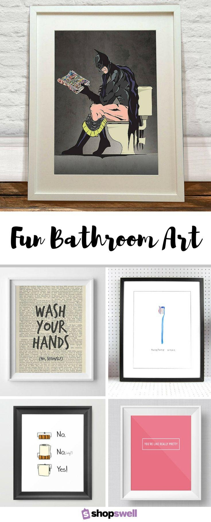 20 Collection of Art for Bathrooms Walls | Wall Art Ideas on Pinterest Wall Decor  id=41214