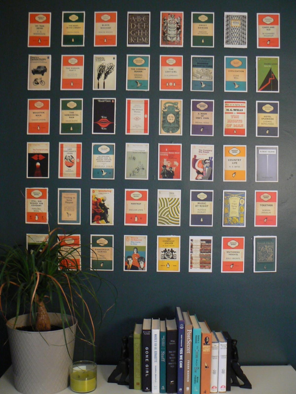 20 Collection Of Penguin Books Wall Art Wall Art Ideas