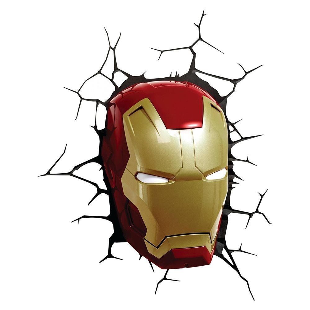 Wall 3d Deco Lights Avengers