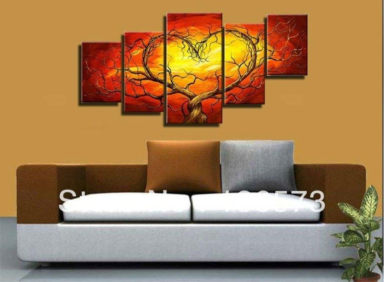 20 Collection Of Abstract Body Wall Art