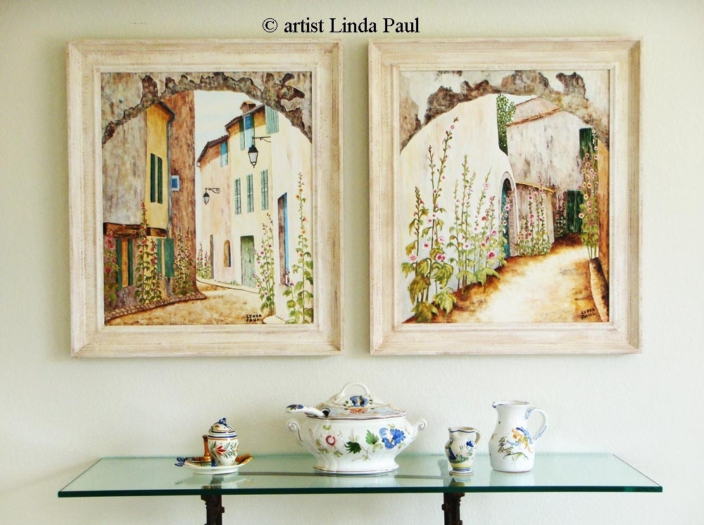15 Collection Of Framed Country Art Prints