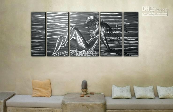 15 Best Inexpensive Abstract Metal Wall Art