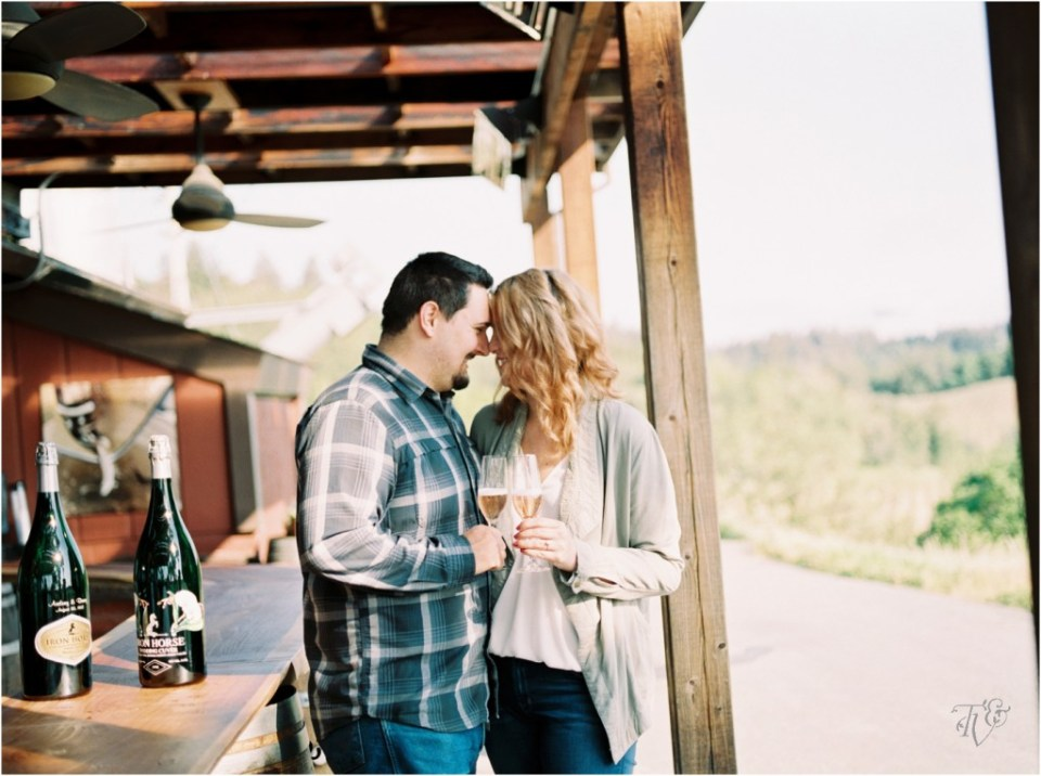 Iron Horse Vineyards Sebastopol Winery Wedding Photographer Isobel & Elliot Engaged11