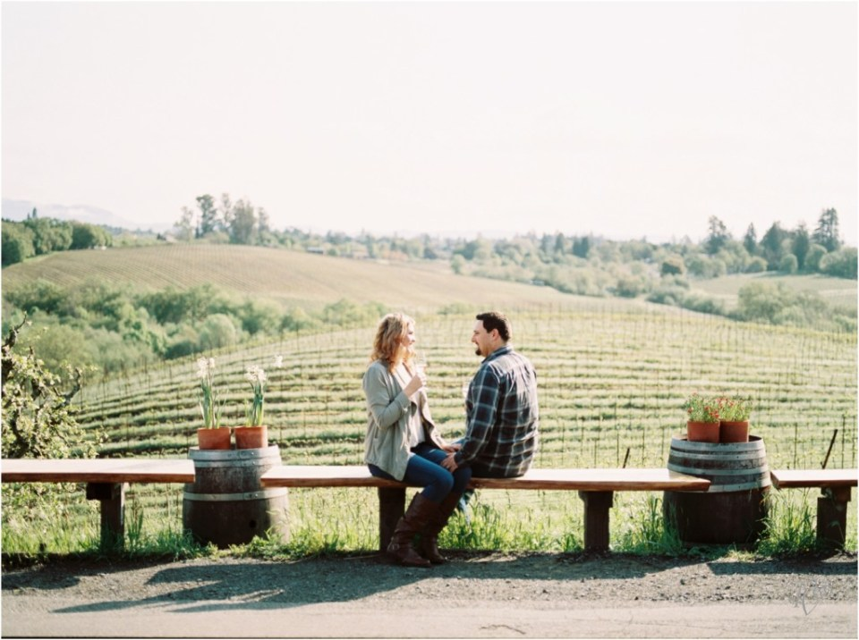 Iron Horse Vineyards Sebastopol Winery Wedding Photographer Isobel & Elliot Engaged17