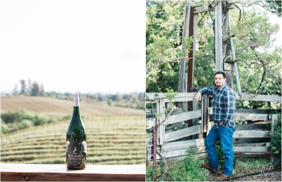 Iron Horse Vineyards Sebastopol Winery Wedding Photographer Isobel & Elliot Engaged18