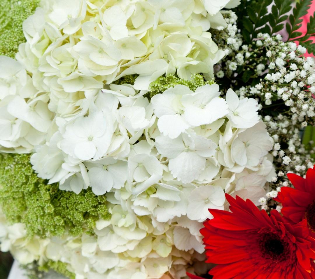 wedding bouquet close-up