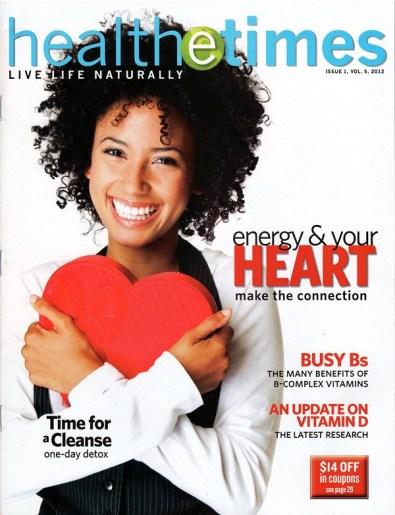 Magazine Cover for Health e-Times