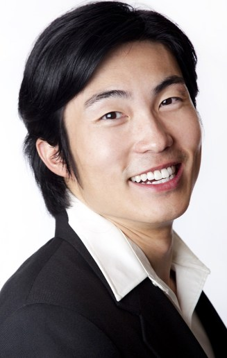 Headshot of young businessman from Asia