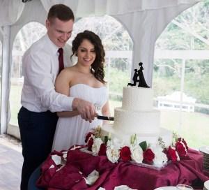 Emmet and Audrey's wedding